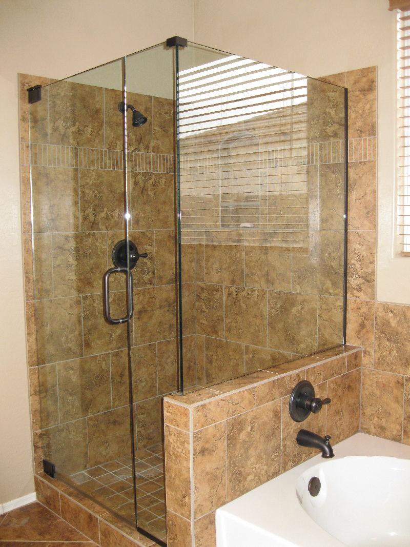 Custom Shower Enclosures Phoenix Area - by Window & Glass Pros